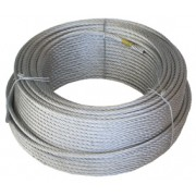 Cable Acero 8mm Galv.(6x19x1) R-100mt.