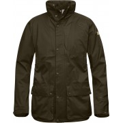 FjallRaven Varmland Eco-Shell Jacket - Dark Olive - Vestes de Pluie L