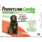 Merial Combo Frontline (40-60 Kg) 6 Pipetas Grande
