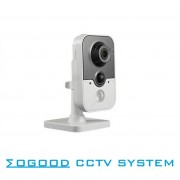 Hikvision Multi-language Version DS-2CD3410FD-IW 1MP CCTV IP Camera Mini Support WiFi / PoE Family Baby Security Camera
