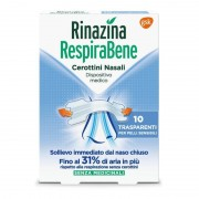Glaxosmithkline C.Health.Spa Rinazina Respirabene Trasparenti 10 Cerotti Nasali