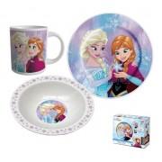 Set mic dejun 3 piese ceramica Frozen
