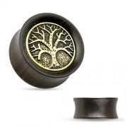 14 mm Double-flared plug tree of life