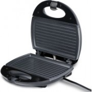 iBELL SM112 2 Slice Sandwich Maker with Non-Stick Coated Plates Grill(Black)