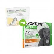 Frontline® Combo spot-on para perros 2-10 kg - 3 pipetas