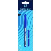 Roller cu cartus SCHNEIDER Opus + 2 rezerve cerneala/blister