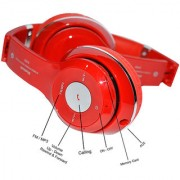 A Five S460 Bluetooth Headset Red