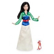 Papusa Disney Mulan Cu Figurina Mushu
