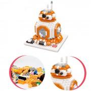 particulas de diamante 3D montan BB-8 pequenos bloques de juguete educativo
