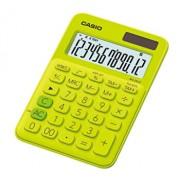 Calculator de birou Casio MS-20UC, 12 digits, verde