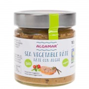 Pate vegetal cu alge marine bio 180g
