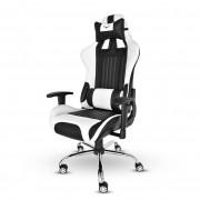 Silla Gaming Naceb NA-0901 marine 130 grados color negro/blanco
