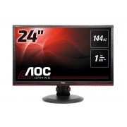 AOC 24in led 1920x1080 16:9 1ms g2460pf 1000:1 hdmi vga dvi usb .in