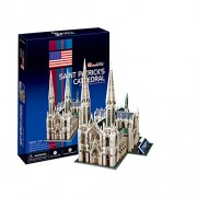 "CubicFun 3D Puzzle C-Series ""Saint Patricks Cathedral - New York City"""