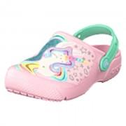 Crocs Crocs Fun Lab Clog Kids Ballerina Pink/new Mint, Shoes, rosa, EU 28/29