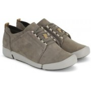 Clarks Tri Bella Grey Combi Casuals shoe For Women(Grey)
