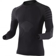 X-Bionic - tričko T Man Invent Shirt Long Sleeve black/anthracite Velikost: L