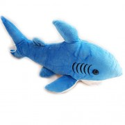 Blue Shark Soft Toy Stuffed Soft Plush for Kids Birthday and Gift (38 cm)