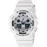 G-Shock Analog-Digital White Dial Mens Watch - GA-100A-7ADR (G274)