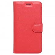Huawei Mate 9 Pro, Mate 9 Porsche Design Textured Wallet Case - Red