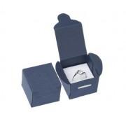 Kék színű ékszer tartó doboz