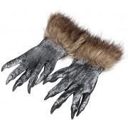 YOUDirect Wolf Gloves Halloween Costume Accessories Werewolf Paw 1 Pair