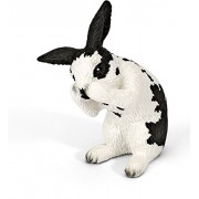 Schleich Grooming Rabbit Toy Figure