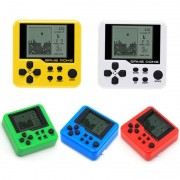 Portable Mini Electronic Pets Game Machine Tetris Brick Game Console Anti-stress Toys Game Children Educational Electronic Toys