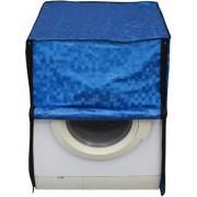 Glassiano Blue Colored Washing Machine Cover For IFB Diva Aqua SX Front Load 6Kg