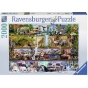 Puzzle Animale 2000 Piese