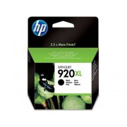 HP Cartucho de tinta Original HP 920XL de Alta Capacidad CD975A Negro para Officejet 6000, 6000 E609a, 6500, 6500 E709a, 6500A, 6500A E710a, 7000...