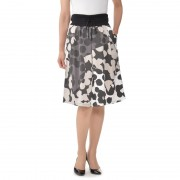 SUPERLADY ランダムドットプリントスカート【QVC】40代・50代レディースファッション