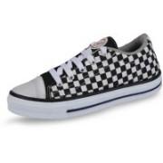 Unistar 4045 Canvas Shoes For Women(Black)