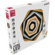 Design Mennyezeti Lámpa Atina 92W(46+46) RF Távirányítóval