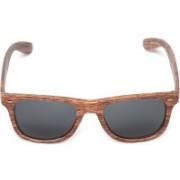 Flying Machine Round Sunglasses(Grey)