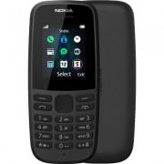 Телефон Nokia 105 (2019) TA-1174, dual-SIM, черен