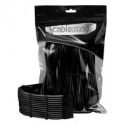 Set cabluri prelungitoare CableMod PRO ModMesh, cleme incluse, Black