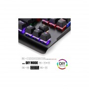 Redragon K561-R VISNU 87 Keys Anti-ghosting Rainbow Backlit Waterproof Mechanical Gaming Keyboard With Blue Switches