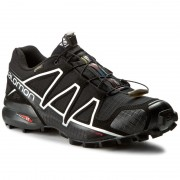 Pantofi SALOMON - Speedcross 4 Gtx GORE-TEX 383181 26 G0 Black/Black/Silver Metallic-X