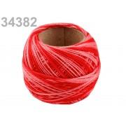 Hímzőcérna Cotton Perle Nitarna - policolor, 290019, 34382, chili pepper