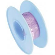 Cablu pentru conexiuni înfăşurate Wire-Wrap, 1 x 0.20 mm², purpuriu, 15 m, AWG 24