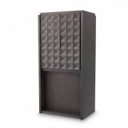 Dulap pentru vinuri design elegant LUX Jane, cafeniu-Mocha 113835 HZ