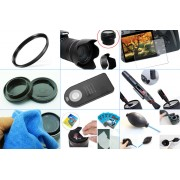 10 in 1 accessories kit: Canon 700D + 18-55MM IS STM