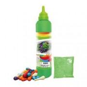 Set baloane Zorbs Color cu sticla baloane si praf colorant de creta Verde