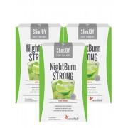 Sensilab SlimJoy NightBurn STRONG 1+2 ZDARMA Noční nápoj na hubnutí který spaluje tuky Bez kofeinu Limetková příchuť 3x 10 sáčků po 1 měsíc