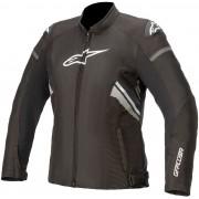 Alpinestars Stella T-GP Plus V3 Chaqueta textil para motocicletas d... Negro Blanco XS