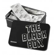 Secura Kondome Boîte de 50 Préservatifs The Black Box