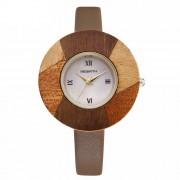 Drevené hodinky - dva v jednom