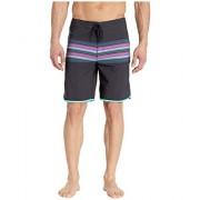 Hurley Phantom Baja Malibu Bañador para Hombre (50,8 cm), Negro, 36