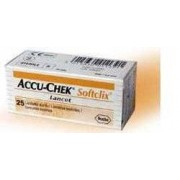 ROCHE DIABETES CARE ITALY SPA Accu-Chek Softclix 25 Lancette